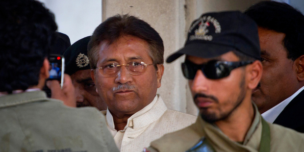 Pervez Musharraf is unlikely to face the death penalty in Pakistan. Photo / AP