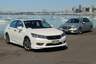 Honda Accord and Mercedes-Benz E-Class Pictures / David Linklater