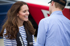 The Duchess of Cambridge returned to her High Street roots. Photo / Sarah Ivey