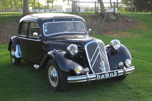 Citroen built 760,000 Traction Avant cars in various forms between 1934 and 1957.