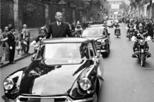 During the 50s, 60s and 70s, the DS had the best brakes, ride and handling of any production car.  A Citroen DS enabled President Charles de Gaulle and his wife to escape a hail of bullets.