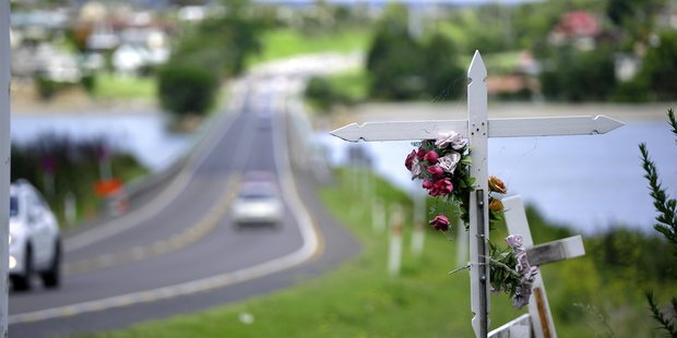 Maungatapu bridge where Iain Crisp caused a fatal accident December last year.
