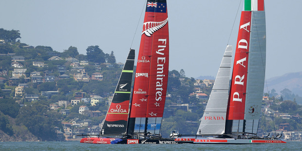 Emirates Team New Zealand. Photo / AP