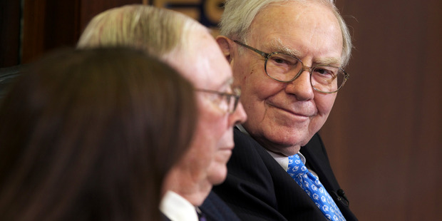 The Sage of Omaha -  Berkshire chairman and CEO Warren Buffett. Photo / AP