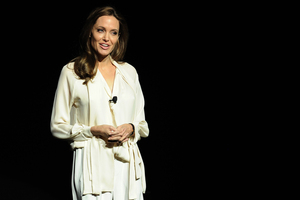Angelina Jolie had a preventive double mastectomy. Photo / AP