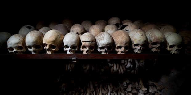 Hateful propaganda spread by a powerful, privately owned mass media was a major driver in the Rwandan Genocide. Photo / AP