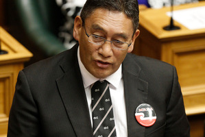 Hone Harawira says Mana members will decide on any internet Party deal. Photo / Mark Mitchell