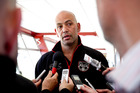 Tony Iro has ruled himself out of the running to replace Matt Elliott at the Warriors. Photo / Dean Purcell