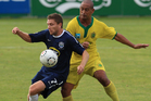 Defender James Pritchett made his 48th OFC Champions League appearance in a 3-0 win over Dragon. Photo / Greg Bowker