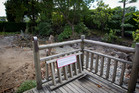 The area at Auckland Zoo where the Fukuoka Japanese garden used to be. Photo / NZ Herald