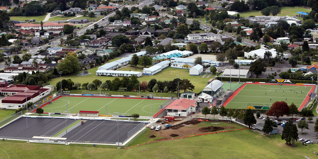 The layout of Kensington Park in Whangarei has changed for the 2014 winter season.