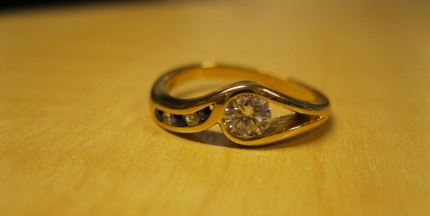 The engagement ring. Photo/Supplied