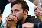 Swimming great Ian Thorpe is