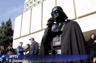 Darth Vader's run for president of Ukraine ended ingloriously Thursday when election officials said the man posing as the iconic movie villain might actually be an electrician named Viktor Shevchenko.