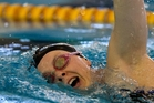 Lauren Boyle's 400m freestyle win completed a clean sweep. Photo / Brett Phibbs