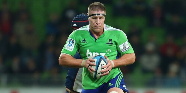 The ability of Brad Thorn to stop the maul will be key tonight at Forsyth Barr Stadium. Photo / Getty Images