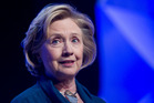Former US Secretary of State Hillary Rodham Clinton. Photo / AP