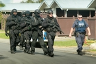 Police allege two officers were bitten after an armed offenders squad search in Marewa on Friday. Photo/Warren Buckland