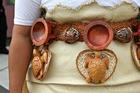 Lupe Ahio's beautiful ta'ovala mat.