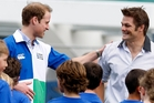 Prince William has met Richie McCaw several times. Photo / Sarah Ivey