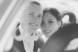 Tim Pennington and his wife Sara. Photo / Facebook