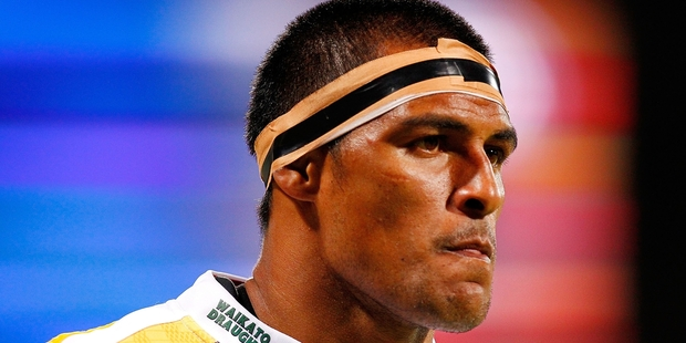 Tanerau Latimer has played four Super Rugby finals and been on the winning side in three. Photo / Getty Images