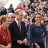 The Duke and Duchess farewell Wellington. Photo / Lisa Rutherford