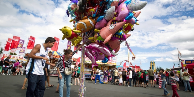 The Auckland Easter Show and jazz festivals are among the attractions this holiday weekend. Photo / Richard Robinson