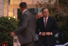 John Key attended the Maori Party's event at the Northern Club in Auckland. Photo / Native Affairs for Maori TV