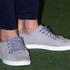 Kate wore Mint Velvet grey suede sneakers in Dunedin. Photo / Getty Images