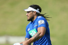 Ma'a Nonu of the Blues during an Auckland Blues Super Rugby training session earlier this week. Photo / Getty Images