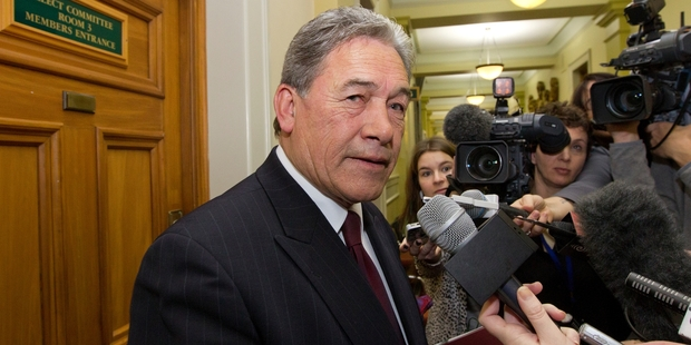 Winston Peters says his housing policies will be even more relevant post-election. Photo / Mark Mitchell