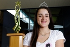 Zoe Beck, 14, made it to the finals of Miss Junior New Zealand 2014 and was crowned Miss Supportive. Photo/George Novak