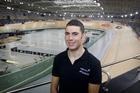 Endurance track cyclist Patrick Bevin at the Avantidrome. Photo / Christine Cornege