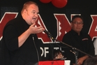 Kim Dotcom has travelled across the political spectrum to settle on an unlikely ally: Hone Harawira. Photo / APN