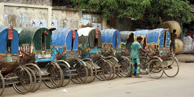Dhaka is home to some 600,000 rickshaws. Photo / Creative Commons image by Flickr user Nasir Khan