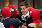 Spider-Man star Andrew Garfield says the webbed wonder is Jewish. Photo/AP