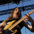 Este Haim of the band HAIM performs during the first day of the 2014 Coachella Music and Arts Festival. Photo / AP