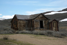 The weather-battered buildings at Bodie State Historic Park provide an insight into the hard lives of the gold miners who once called this windswept desert plateau home. Photo / Eveline Harvey