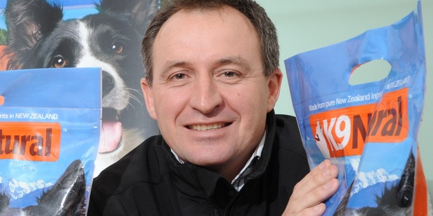 Calvin Smith, chief executive of K9 Natural Foods