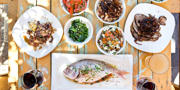 A selection of dishes from the dinner menu at Ima restaurant. Photo / Babiche Martens