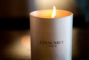 Chaumet Rose candles. Photo / Babiche Martens.