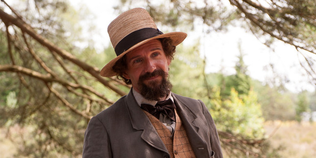 Ralph Fiennes as Charles Dickens.