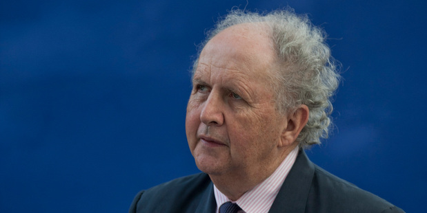 Bestselling Scottish crime writer Alexander McCall Smith.