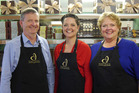 Terry  and Stephanie Everitt with their daughter  Caroline Everitt Gardiner all have roles within Devonport Chocolates.