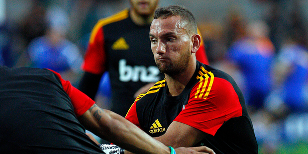 Losing Aaron Cruden is a body blow. Photo / George Novak