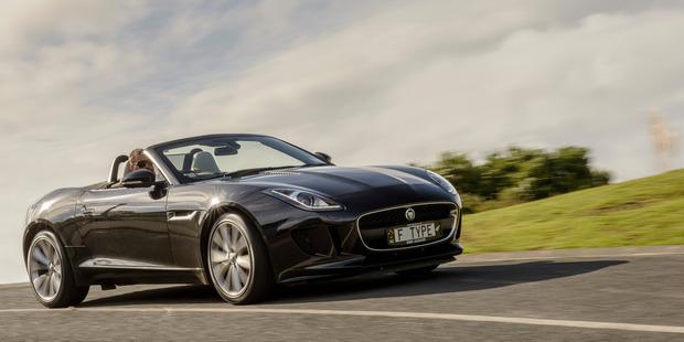 Jaguar F Type. Photo / Ted Baghurst.