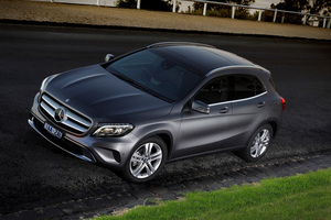 The new GLA is a prize for a hole in one at the Mercedes NZ event.