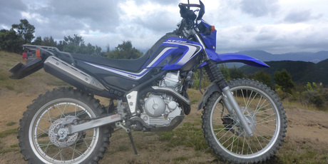 Yamaha's latest XT250 proves its a real off-roader.