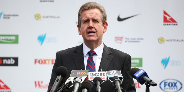 NSW Premier, Barry O'Farrell. Photo / Getty Images